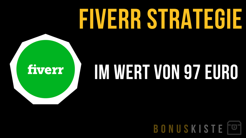 Fiverr Strategie