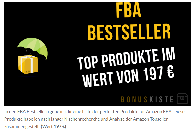 amazon fba bestseller