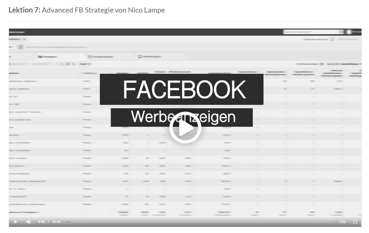 facebook advanced strategie