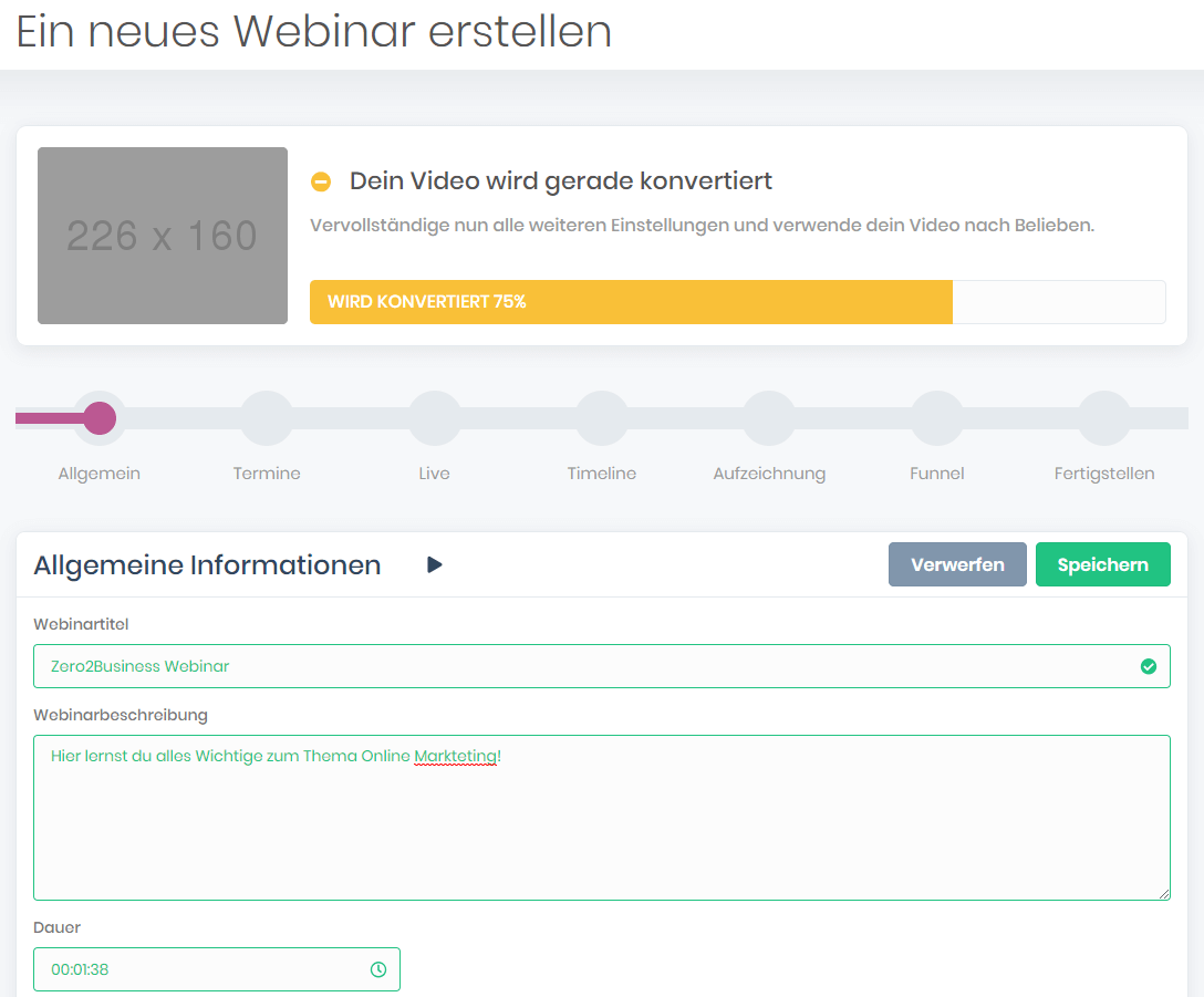 EZ Webinar