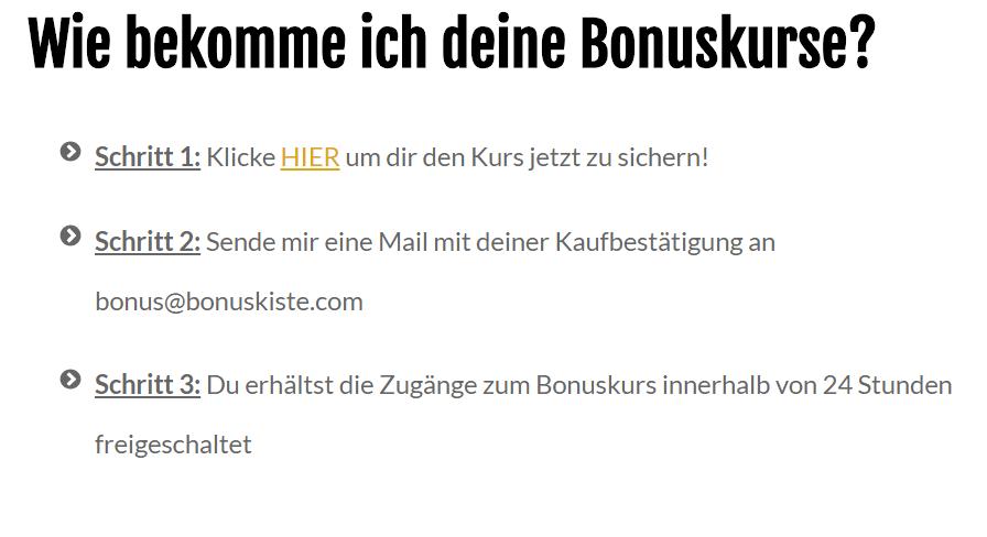 Bonuskurse